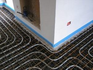 Impianti termici a pavimento – Pannelli radianti