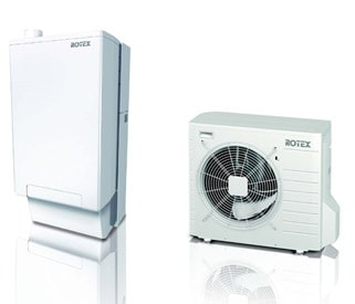 pompa calore caldaia rotex hybrid system