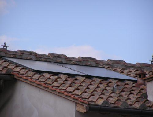 Impianto radiante e solare termico