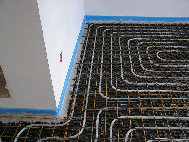 impianto termico a pavimento Montelupo Fiorentino